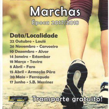 Marchas Época 2017/2018