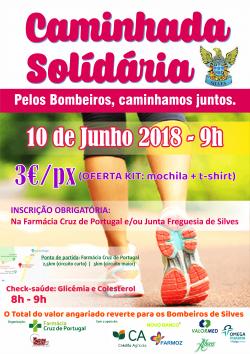 Caminhada Solidária pelos Bombeiros Voluntários de Silves-Fotos
