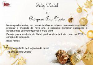 Mensagem de Natal e Próspero Ano Novo